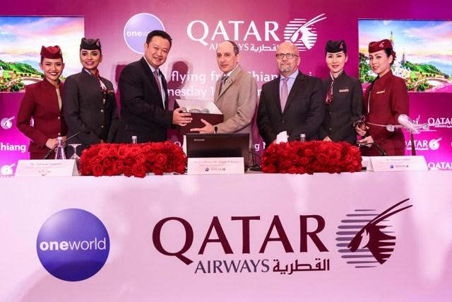 Qatar Airways opens fourth new gateway into Thailand