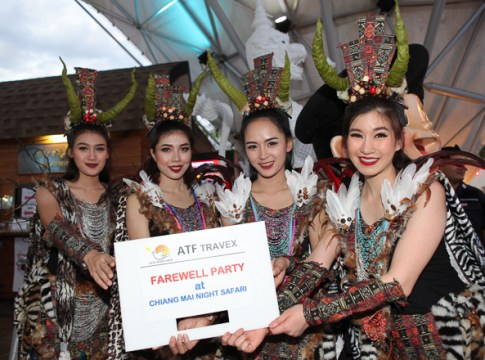 ATF 2018 Farewell Party at Chiang Mai Night Safari