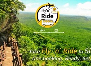 Nok Air launches Fly 'n' Ride service between Bangkok and Si Sa Ket
