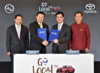 TAT and Toyota Motor Thailand sign MOU for Amazing Thailand Go Local