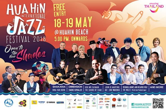Hua Hin International Jazz Festival opens to the new shades (1)
