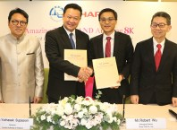 TAT and Sharp Corporation sign MOU to co-promote 'Amazing Thailand Amazing 8K' 1
