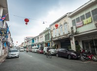 European architectural influence - Phuket Old Town