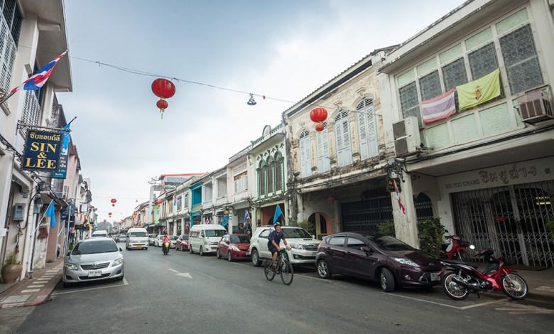European architectural influence - Phuket Old Town