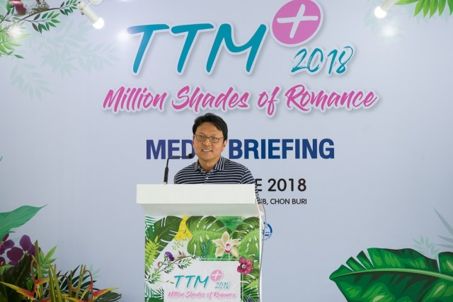 TTM+2018 Media Briefing Mr. Tanes Petsuwan