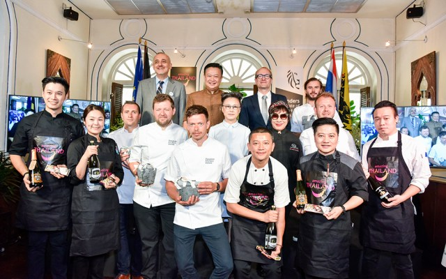 Top chefs from Flanders Kitchen Rebels