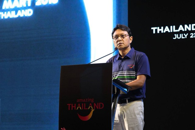 Tanes Petsuwan, TAT Deputy Governor for Marketing Communications