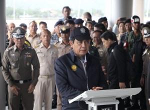 Thai PM General Prayut Chan-o-cha visited Phuket on 9 July 2018
