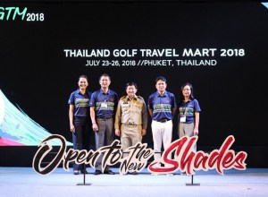 Thailand Golf Travel Mart 2018 opening ceremony in Phuket