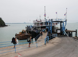 Ferry transfer at Raja Ferry Port Surat Thani