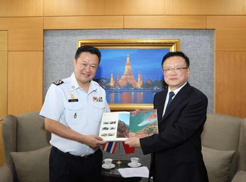 TAT Governor meets Chongqing Municipal Vice Mayor