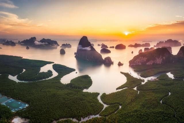 Phang Nga-Samed Nang Chee Viewpoint (จุดชมวิวเสม็ดนางชี)