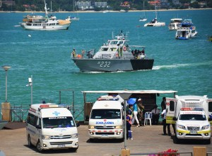 Phuket-joint maritime search and rescue exercise