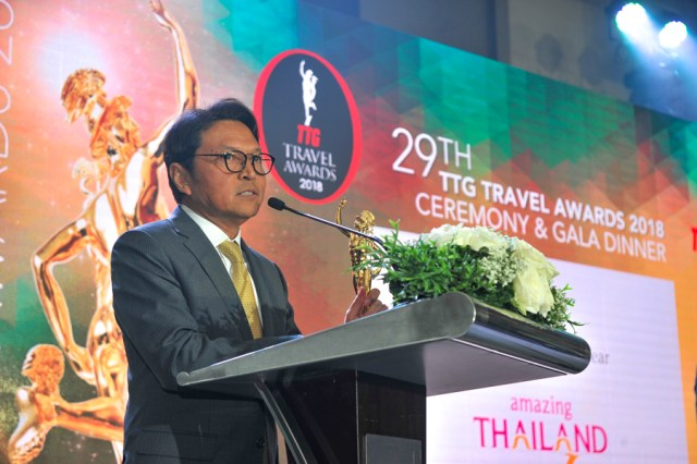 TTG Asia Travel Awards 2018 - Tanes Petsuwan