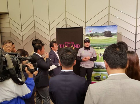Ariya Jutanugarn Thailand Golf Ambassador