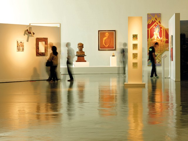 Thailand's art scene honours the traditional embraces the contemporary and celebrates the creative