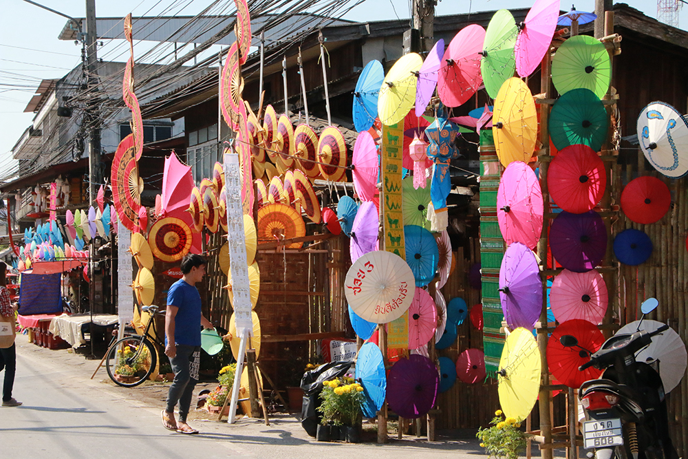 Bo Sang Umbrella and Sankamphaeng Handicraft Festival 2019