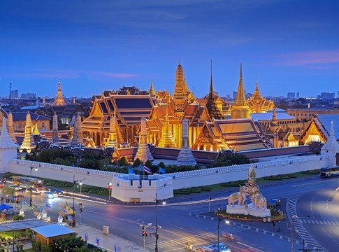 Programme of the Royal Coronation of King Rama X in April and May as well as October 2019