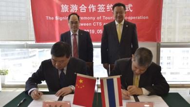 TAT and China Travel Service sign strategic LOI