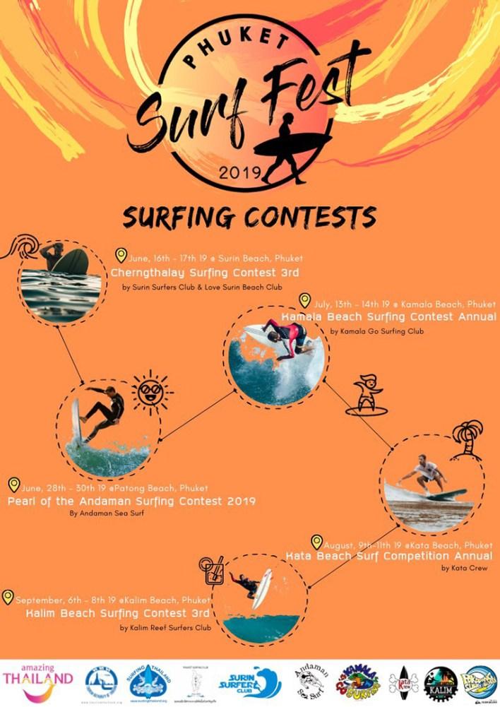 Phuket Surf Series 2019