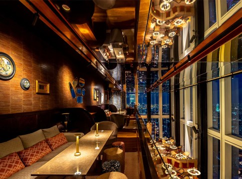 Thailand's Highest Restaurant and Bar now open at Mahanakhon Bangkok SkyBar