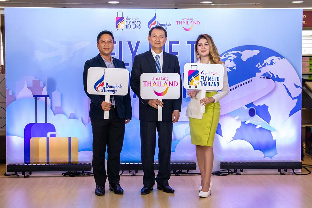 'Fly me to Thailand' promotion launched for short-haul markets