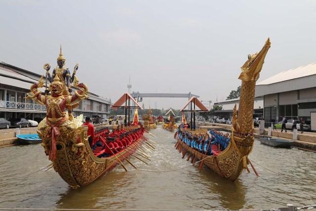 The Royal Coronation of King Rama X – the Royal Barge Procession