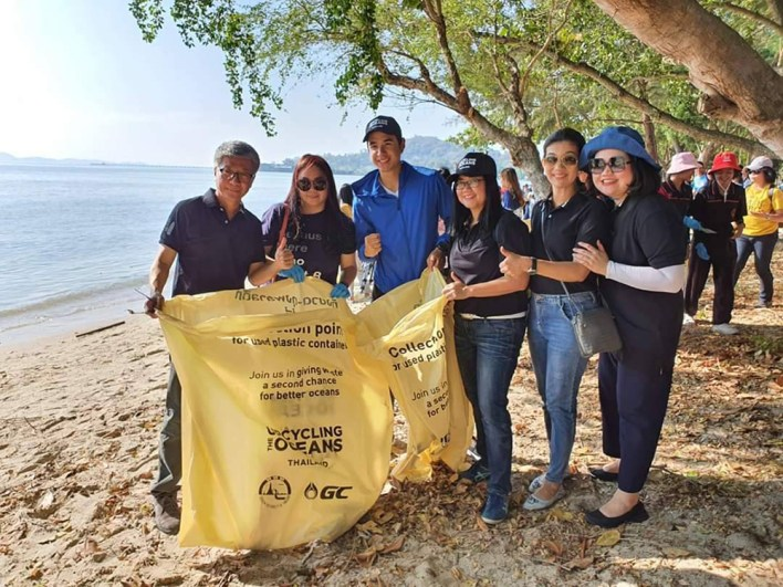 """""""Shade of Blue Ocean"""" marks TAT's 3rd year of """"Upcycling the Oceans, Thailand"""" clean-up effort"""