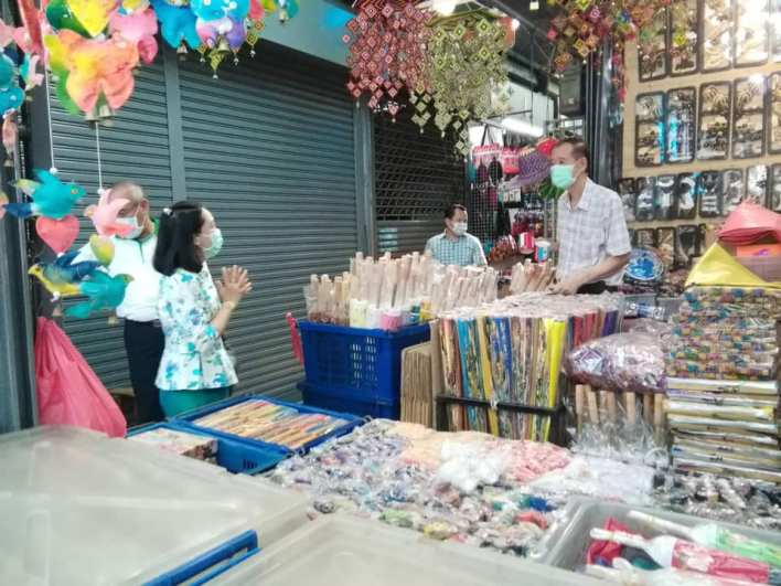 Chatuchak Weekend Market reopens today, strict COVID-19 control measures in place