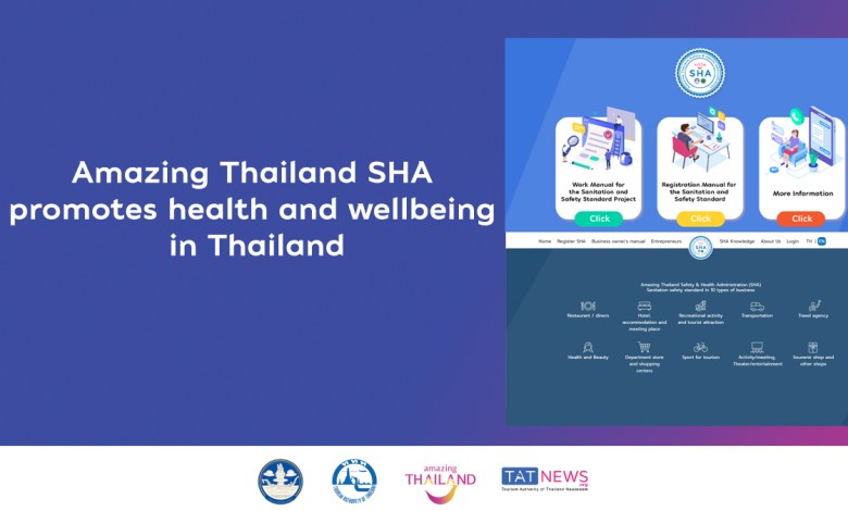 Amazing Thailand SHA promotes health and wellbeing in Thailand