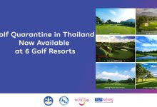 Golf quarantine in Thailand now available at six government-approved golf resorts