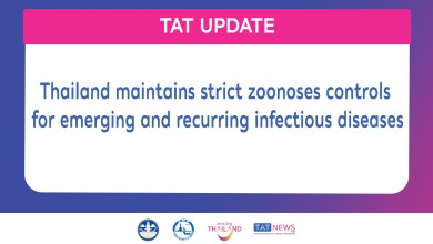 Thailand maintains strict zoonoses controls for emerging and recurring infectious diseases