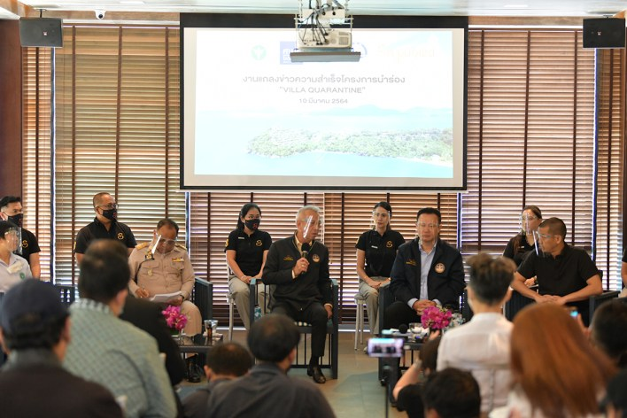 Thailand successfully completes first Villa Quarantine pilot project