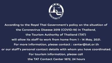 TAT works from home 1-14 May 2021
