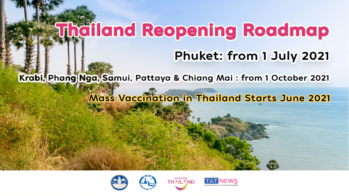 Thailand reopening roadmap goes ahead amid COVID-19 vaccine rollout