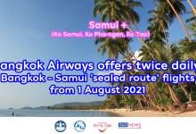 Bangkok Airways revises its Bangkok-Samui 'sealed route' flight schedule
