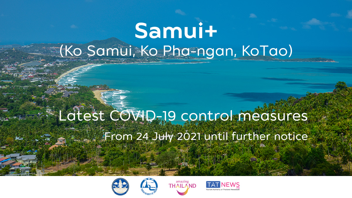 Surat Thani announces urgent COVID-19 control Measures for Ko Samui and Ko Pha-ngan