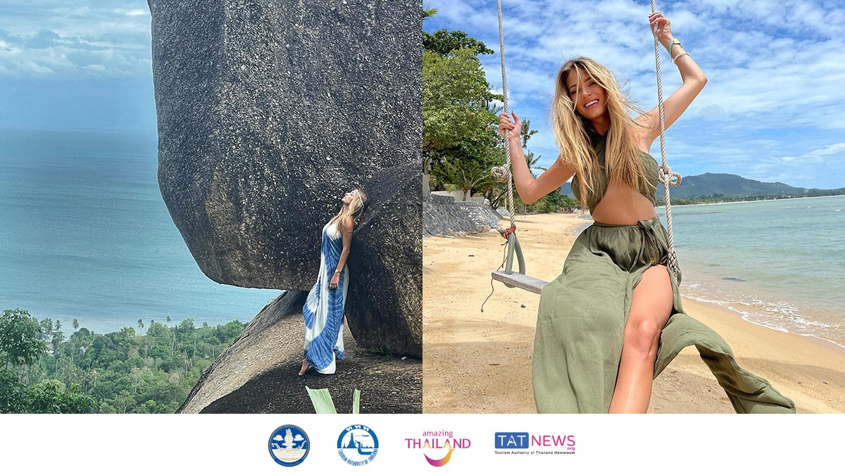 Miss Poland 2011 publicly shares her memorable 'Samui Plus' holiday experience