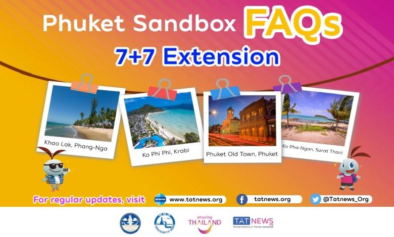 Phuket Sandbox 7+7 Extension FAQs