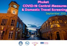 Phuket adjusts COVID-19 controls and travel screening in September 2021