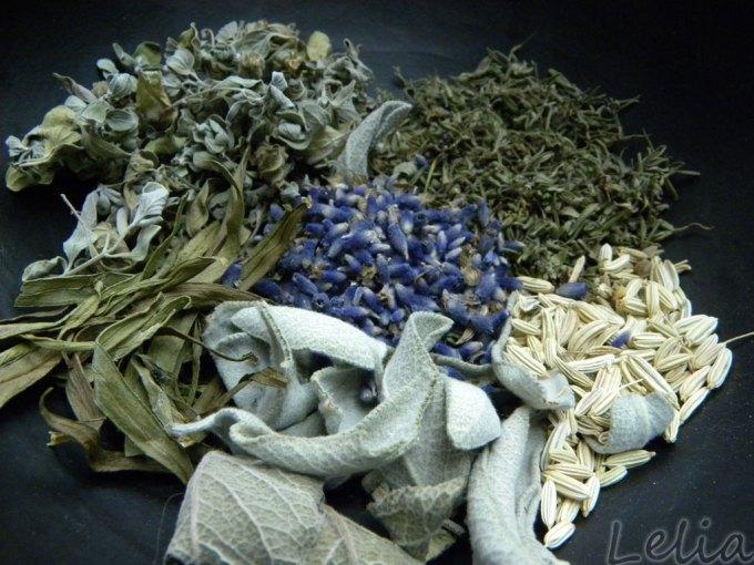 Lavendel-Salzmischung