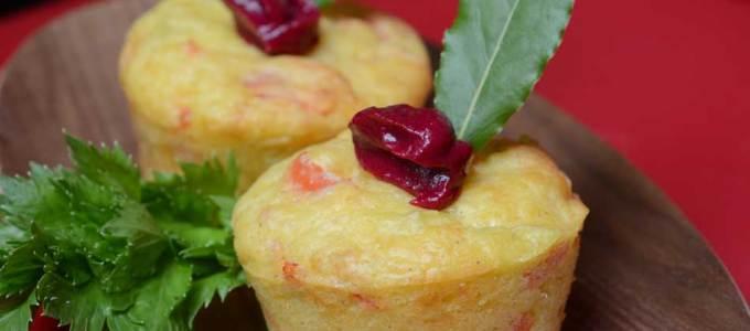 Paprika-Lachsmuffins