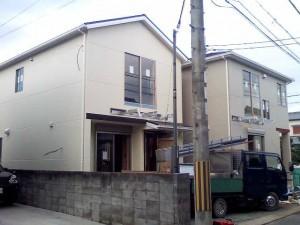 戸建賃貸 A棟もうすぐ完成です。