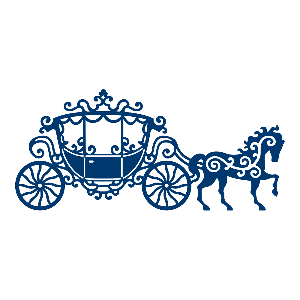 Lace Carriage D231 Tattered Lace