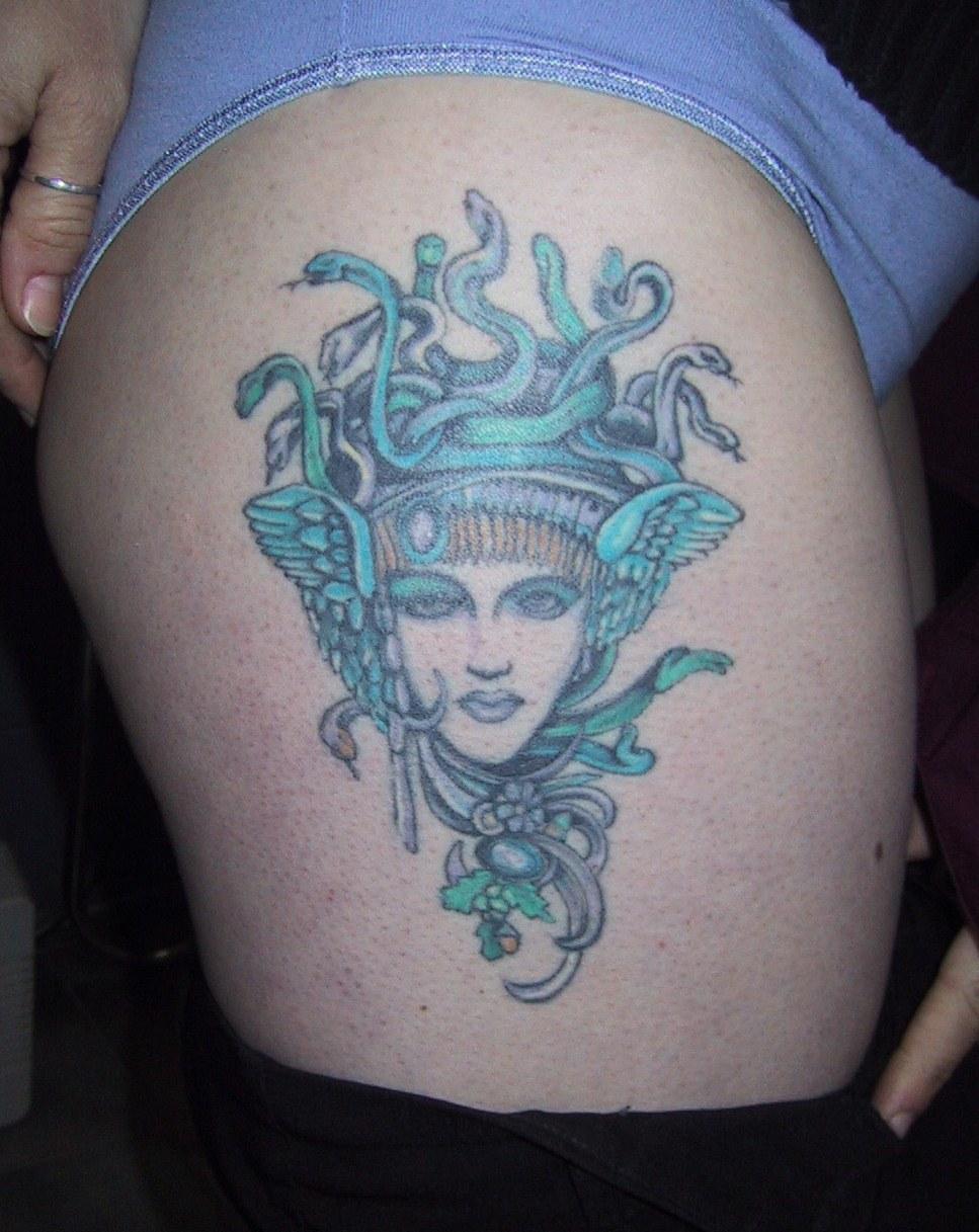 татуировки горгона медуза