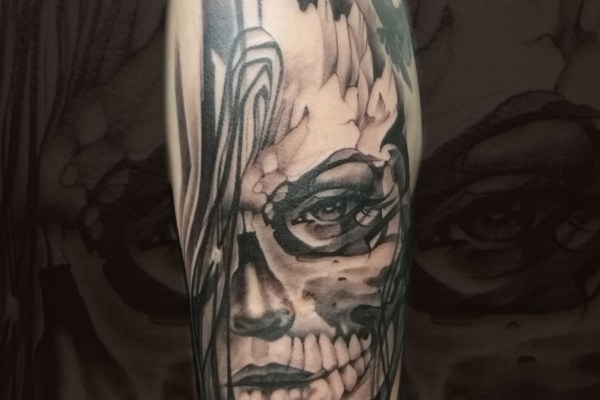 Dark Spirit tattoo (CZ)