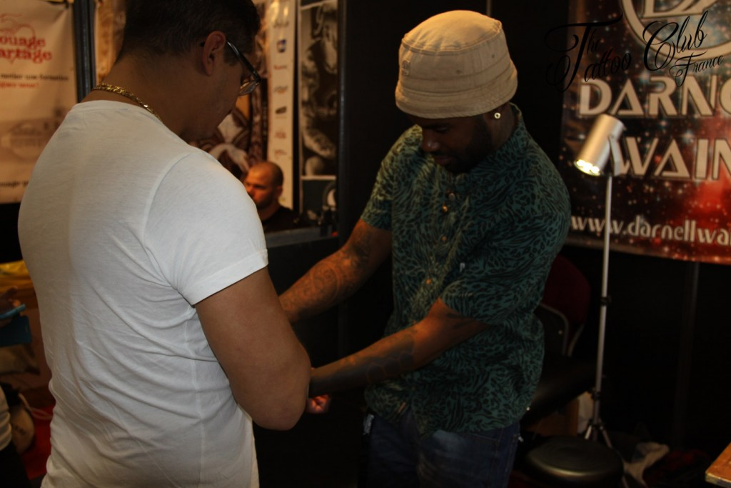 Tattoo Session : Darnell Waine from Best Ink (USA)