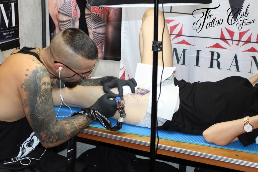 Tattoo Session : ABEL MIRANDA (Espagne)