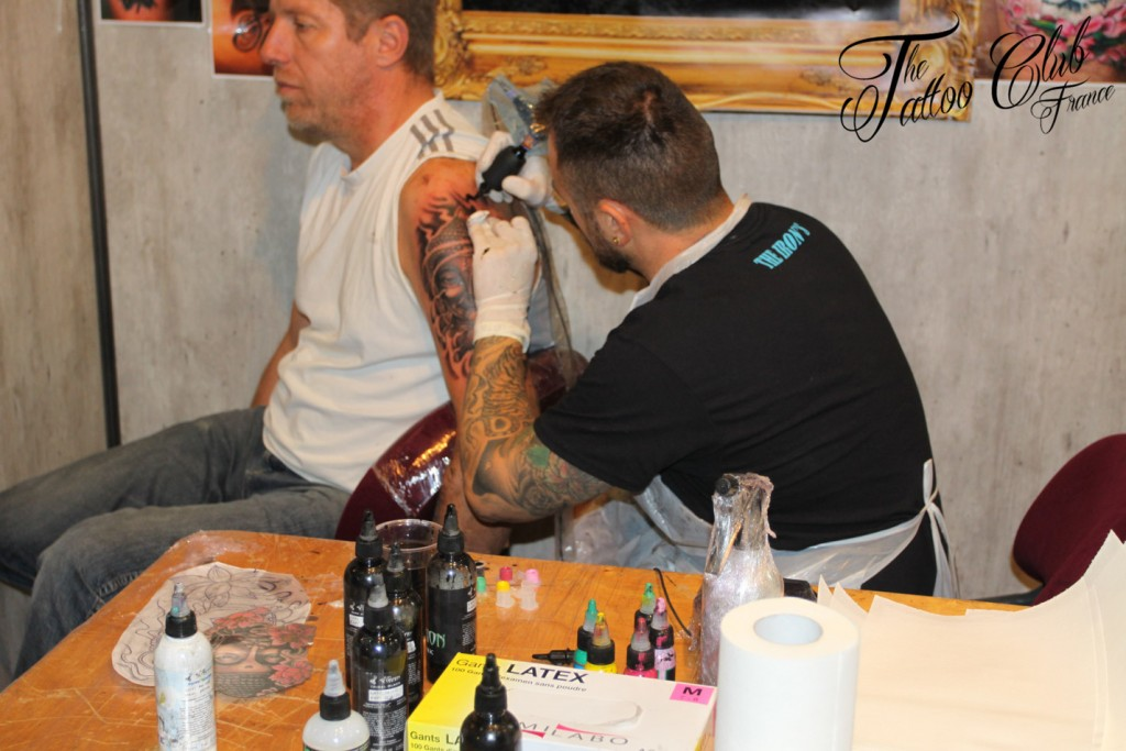 Tattoo Session : The Iron's Tattoo  (Espagne)