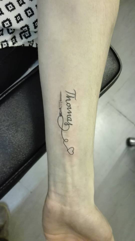 Tatouage lettrage  tatouage calligraphie  tatouage     criture   Tattoo     Tatouage lettrage pr    nom